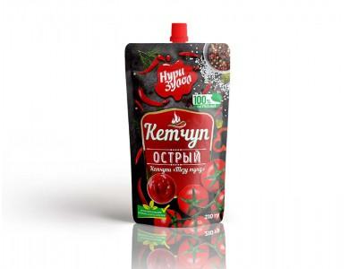 Кетчуп Острый 210 гр