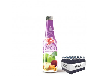 Яблоко + слива 0,33 л