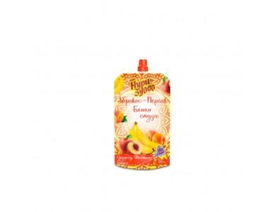 Абрикос - персик - банан 120 г.