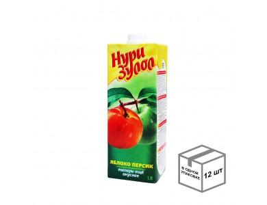 Нектар яблоко + персик 1,0 л
